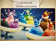 Custom Yugioh Playmat Play Mat Large Mouse Pad Cute pokemon eevee Ice Cream #589