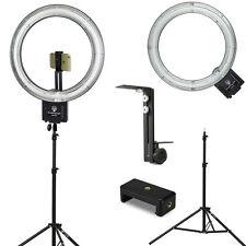 """Diva Ring Light Nova 18"""" Ring Light w/Stand, Light Stand Z-Bracket & Phone Mount"""