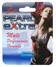 Pearl Extra Male Enhancement Supplement Testosterone Booster Enhancer - 1 Pill