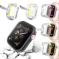 iWatch 40mm 44mm Screen Protector Case Snap On Cover for Apple Watch Series 6 5