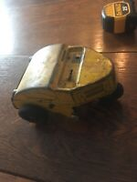 Vtg Wind-Up Nylint Elgin Street Sweeper Tin Litho Rare Antique - Works!