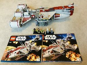 Lego Star Wars 7964 Republic Frigate (Complete With Instructions & All Figures)