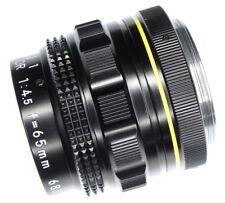 Nikon Macro-Nikkor 65mm f4.5  #68380  ........... Very Rare !!