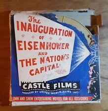 Inauguration of Eisenhower/ Nation's Capital, Reel to Reel tape,Castle Films