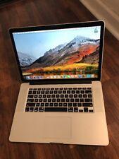 """2014 Macbook Pro Retina 15"""" Quad 2.5   i7 256GB 16GB Office Logic X FCP X 2G Vid"""