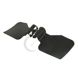 Black Updraft Wind Deflector Kit Fit For Harley Touring Road Glide 1998-2013 12