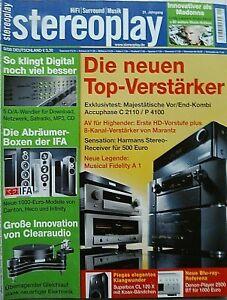 STEREOPLAY  9/08 BENCHMARK DAC 1 PRE,AQVOX USB 2 D/A,APOGEE ROSETTA 200,AUDIO