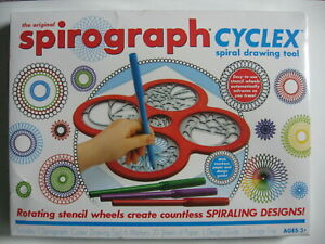 Spirograph Cyclex Spiral Drawing Kit New Shrink Wrapped Box