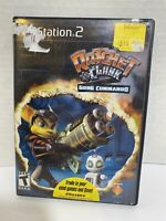 Ratchet & Clank Going Commando (PlayStation 2 PS2, 2003) Complete Game TESTED