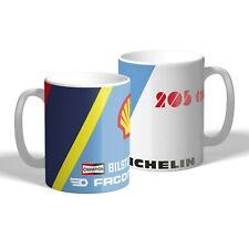 Peugeot 205 T16 Mug Car Motorbike Mechanic Tea Coffee Mug Rally Car Gift