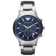 New In Box Emporio Armani AR2448 Chronograph Stainless Steel Quartz Men's Watch