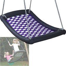Mehrkindschaukel Standard M silber/violett Familienschaukel Nestschaukel Sitz