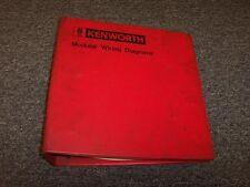 1979 1980 1981 kenworth k100 k100c l700 trucks electrical wiring diagram  manual