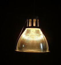 """1 Holophane 14"""" 685 TALL SIZE Industrial Warehouse Light Lobay Glass Shade VTG"""