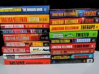 JONATHAN KELLERMAN Lot of 18 HC  Series Books Hardcover Delaware