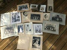 Lot De 15 Photos Anciennes De Mariages ,communion etc ... de l aube