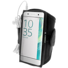 Black Sports Running Armband for Sony Xperia XA F3111 (2016) Gym Jogging Cover