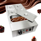Commercial Electric Chocolate Tempering Machine Melter Maker 12kg /5 Pot 1KW USA