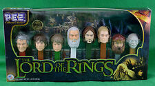 Lord Of The Rings Pez Collectors Series 8 Set 2011 Limited Edition #192142 NIP