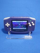 GBA Gameboy Advance Raspberry Pi Modded Backlit Handheld RetroPie- Indigo