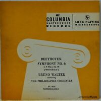 "Beethoven ""Symphony No. 6 Pastorale"" Bruno Walter [Columbia Blue ML 4010] LP"