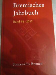 Bremisches Jahrbuch 2017 Staatsarchiv Bremen