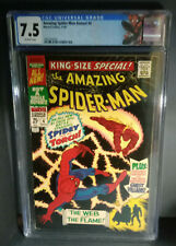 Amazing Spider-Man Annual #4 Marvel Comics 1967 CGC VF-