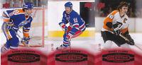 15-16 Upper Deck Overtime Bobby Clarke /99 RED Legends Parallel Flyers 2015