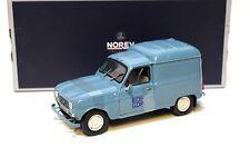1:18 NOREV renault 4f4 r4 EDF-GDF 1965 Blue New chez premium-MODELCARS