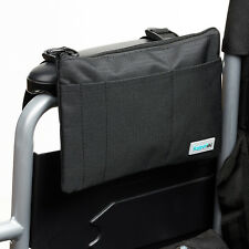 Supportec Wheelchair Armrest Bag Mobility Scooter Aid Pannier Shopping Holder