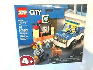 LEGO City Police Dog Unit 60241 Police Toy Kids Building Block Set
