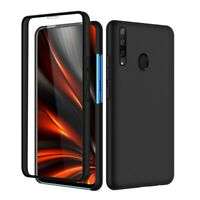 SDTEK Case for Huawei Honor 9X Full 360 Cover Front and Black Hard Back