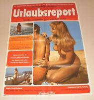 A1 Filmplakat ,URLAUBTSREPORT,  SEX, AKT ,NUDE