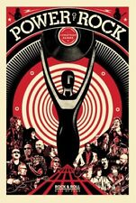 Shepard Fairey The Power of Rock Poster Roll Hall of Fame HOF 2017 Art Print
