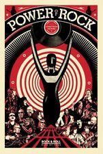 Shepard Fairey The Power of Rock Poster Roll Hall of Fame HOF 2017 Art Print