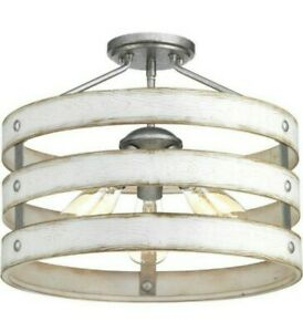Progress Lighting Gulliver 3-Light Semi Flush Light Convertible P350049-141
