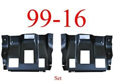 99 16 Super Duty Cab Mount Floor Support Set, Ford, Regular, Super & Crew Cab