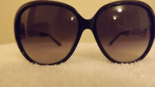 GORGEOUS Bally Women Sunglasses BY2034A Made In France BLACK & GOLD RRP: £350