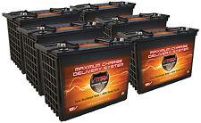 QTY 6 XTR155 GEM CAR 12V AGM VMAX Dry Battery 155AH VMAX