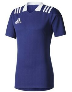 Brand new adidas 3-Stripes Fitted Rugby Jersey XL value £37 Men's