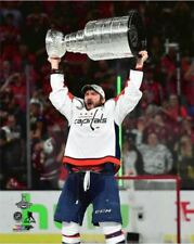 Alex Ovechkin Washington Capitals Hoists Stanley Cup 8x10 Photo 2