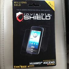 Zagg Cell Phone Shield Guaranteed For Life For Huawei Ascend New!