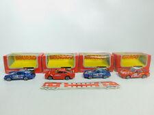 BO890-1 #4x Burago 1:43 Porsche : 4114 911 + 4103 924 Turbo + 4161 959, S.G Ovp