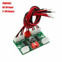 Mini PAM8403 USB Power Digital Audio Amplifier Board DC5V 3W 4Channel Amp Module