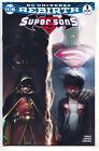 Super Sons 1 DC Rebirth NM Francesco Mattina Variant Superman Batman Color