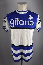 gitane acrylique vintage jersey Tricot noret Gr. L BW 54cm Bike cycling BC2