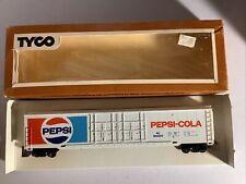 Vintage HO Scale Tyco Train Pepsi Cola