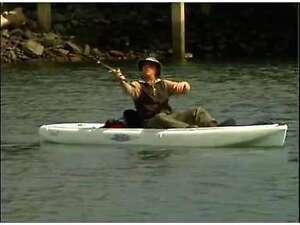 KAYAK ROD KAYAK FISHING ROD CANOE ROD DINGHY ROD BOAT ROD SAILING ROD YACHT ROD