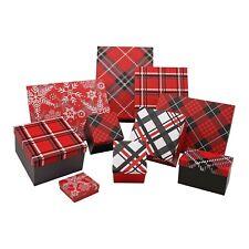 Member's Mark 10-PC Nested Luxury Christmas Holiday Gift Box Wrap Assortment Set