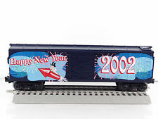 MTH RailKing O Scale 2002 New Year's Box Car Item# 30-7490